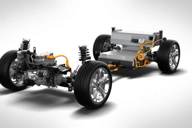 2021 Ford Mach 1 EV system