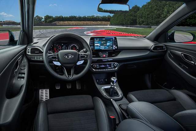 Hyundai N sport interior