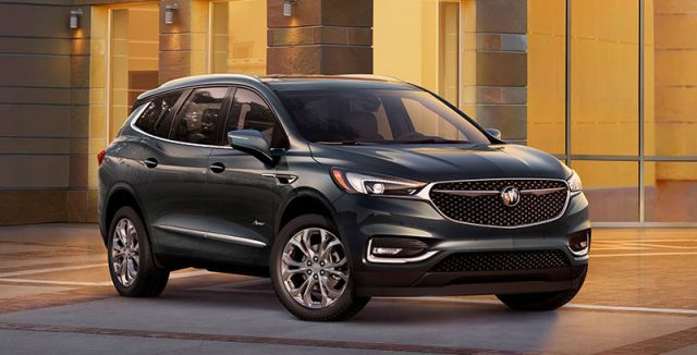 2019 Buick Enclave front