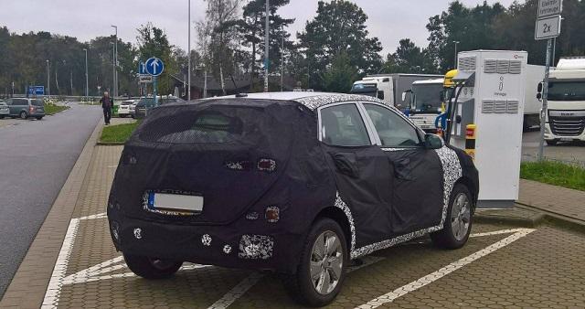 2019 HyundaiKona EV rear