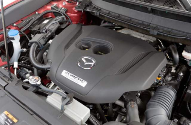 2019 Mazda CX-9 skyactiv engine