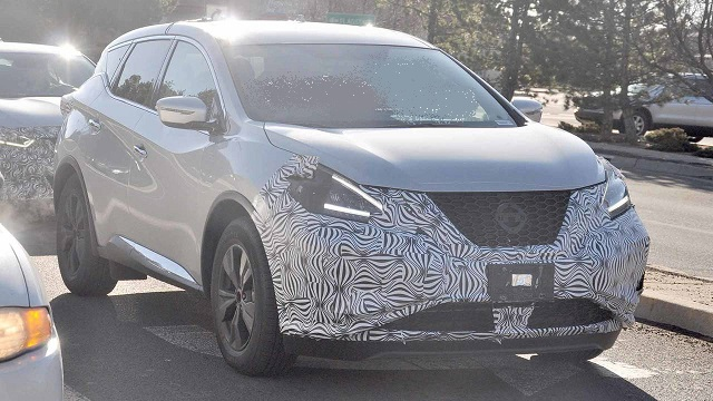 2019 Nissan Murano spy photos