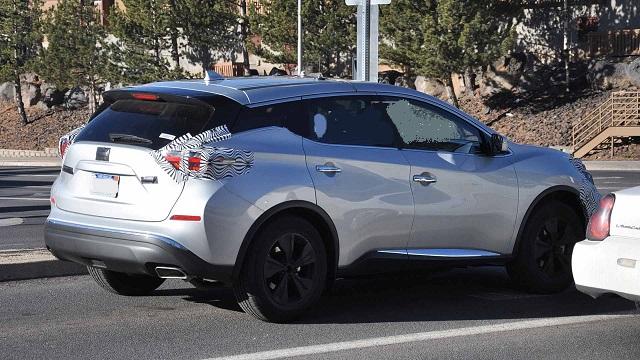 2019 Nissan Murano spy shot
