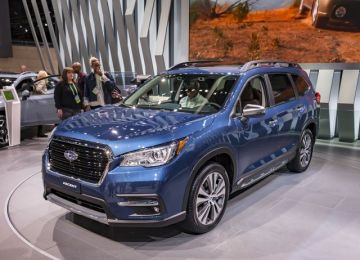 2019 Subaru Ascent front view