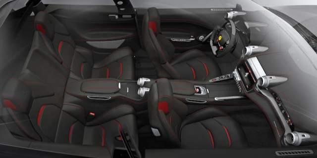 Ferari SUV interior