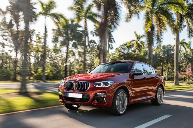2019 BMW X4 front
