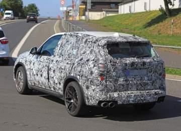 2019 BMW X5M spy shot
