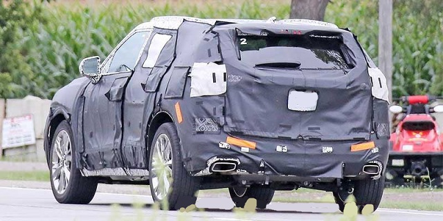 2019 Chevy Blazer rear