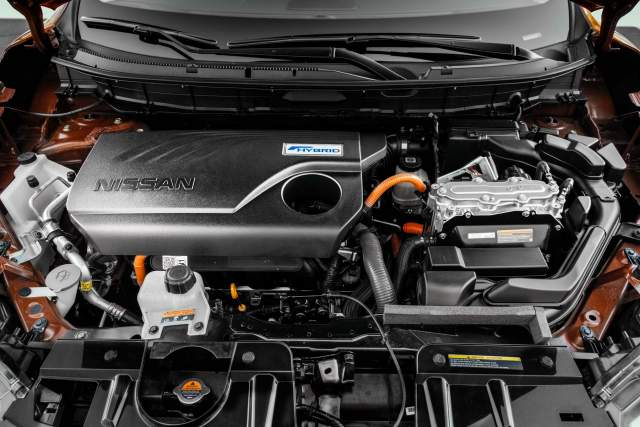 2019 Nissan Rogue Hybrid engine