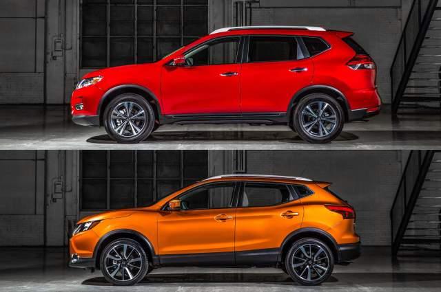 2019 Nissan Rogue Sport vs Rogue