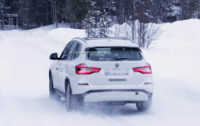 2020 BMW iX3 rear