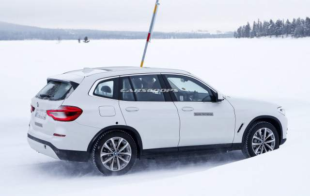 2020 BMW iX3 side