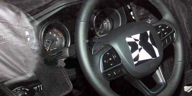 Jeep Grand Wagoneer or Grand Commander interior
