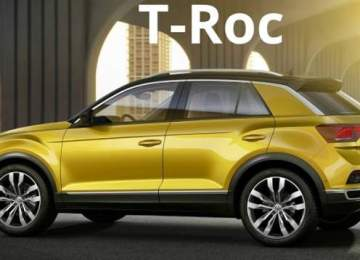 2019 vw t-roc side