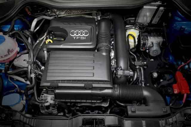 2020 Audi Q1 engine
