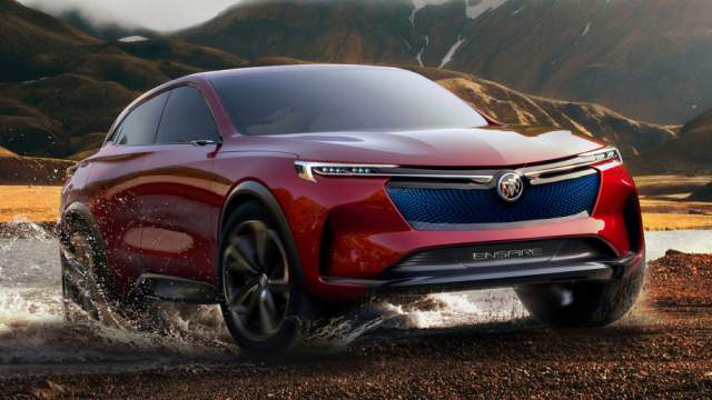 Buick Enspire EV Crossover Concept