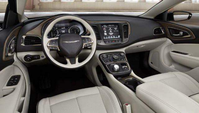 2019 Chrysler Aspen SUV interior
