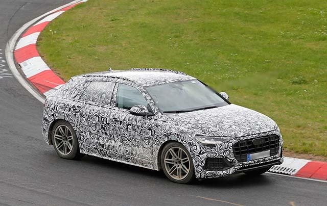 2019 Audi Q4 spy shots