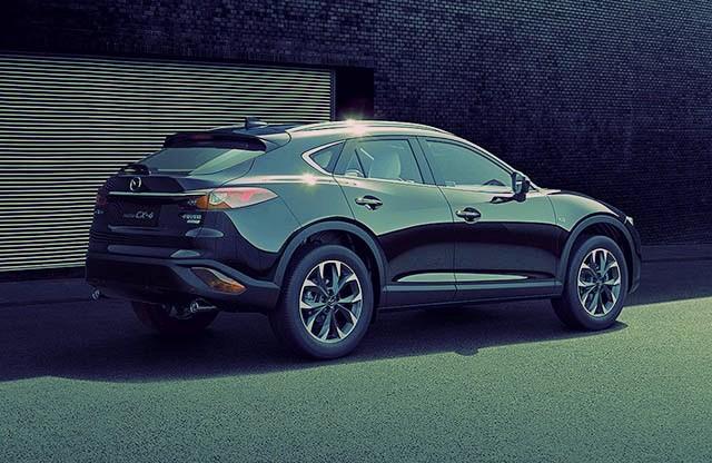 2019 Mazda cx-4 rear