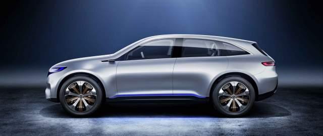 2019 Mercedes EQC side