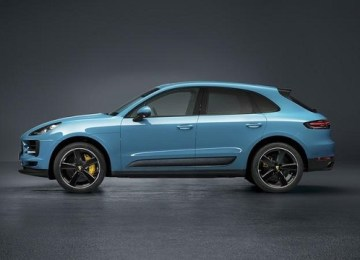2019 Porsche Macan Turbo facelift