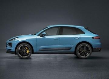 2019 Porsche Macan Turbo facelift