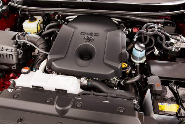 2019 Toyota Land Cruiser Prado engine