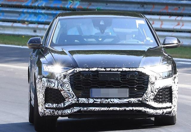 2020 Audi RS Q8 redesign