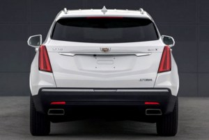 2020 Cadillac XT5 teaser photos