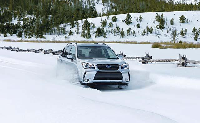 Subaru Forester XT specs