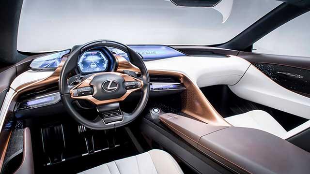 2020 Lexus LF-1 interior
