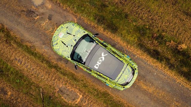 Aston Martin DBX electric