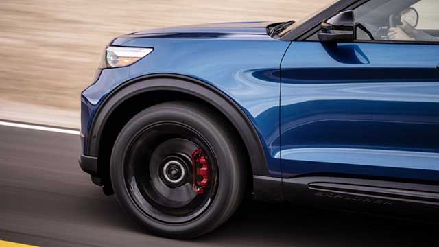 2020 Ford Explorer ST debut