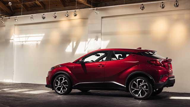 2020 Toyota C-HR AWD specs