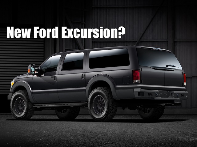 2020 Ford Excursion colors and cargo space