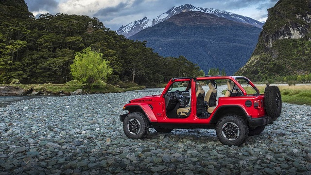 2020 Jeep Wrangler changes