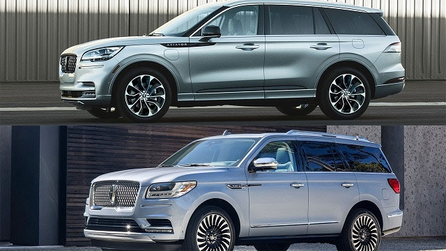 2020 Lincoln Aviator vs Navigator