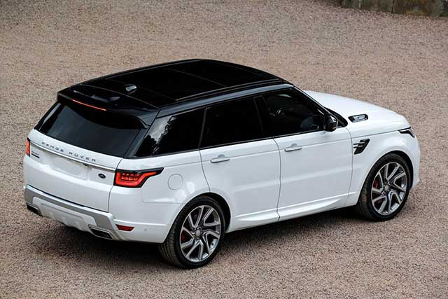 2020 Range Rover Sport changes