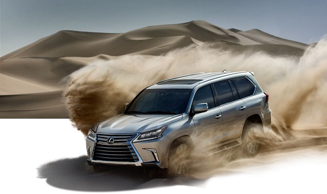 Lexus Performance SUV off road edition