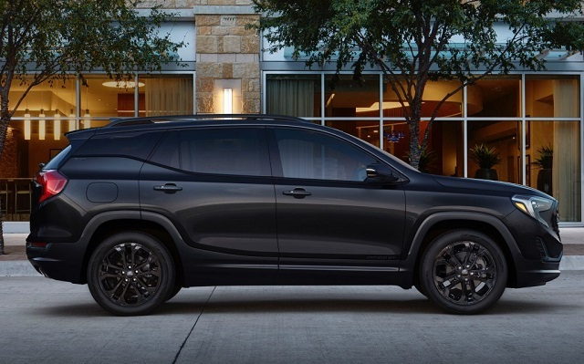 2020 GMC Terrain black edition