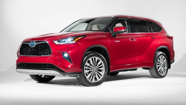 2020 Toyota Highlander Hybrid release date