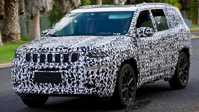 2020 Jeep Grand Wagoneer spy photo