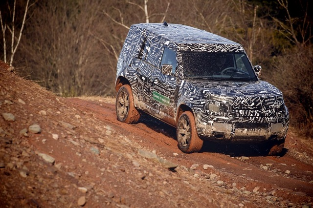 2020 Land Rover Defender usa