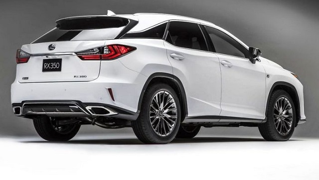 2021 Lexus RX changes