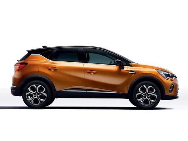 new Renault Captur 2020