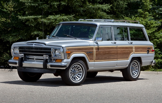 2020 Jeep Wagoneer concept