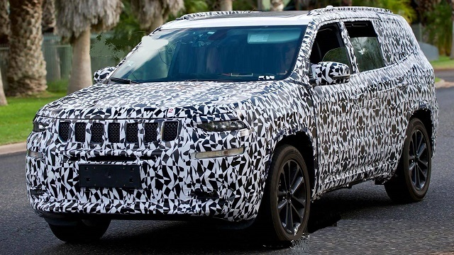 2020 Jeep Wagoneer spy photos