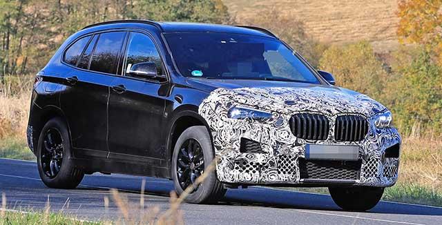 2021 BMW X1 spied