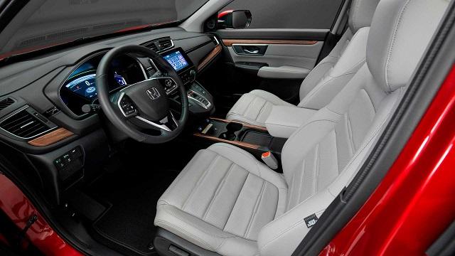 2021 Honda CR-V interior