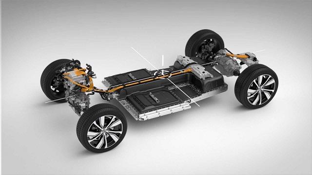 2021 Volvo XC40 EV platform